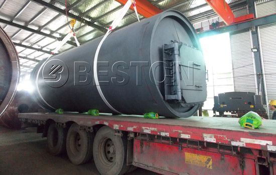 Shipment of Besto Beston Pyrolysis Plant South Africa