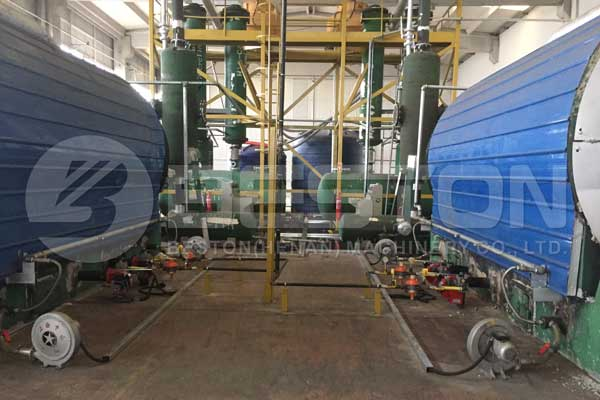 Tyre Pyrolysis Machine